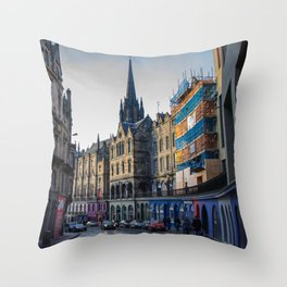 Royal Mile Throw Pillow