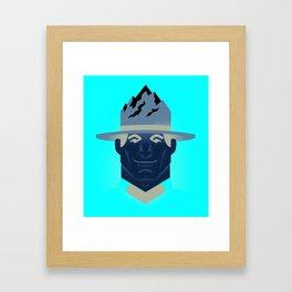Mountie Framed Art Print