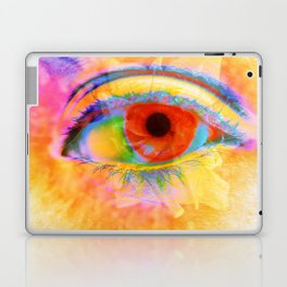 Eye In Bloom Laptop & iPad Skin