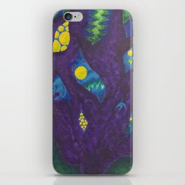 Monsters On My Mind iPhone Skin