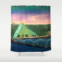 The Castle of Light Shower Curtain