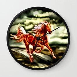 Ein Hauch von Freiheit Wall Clock