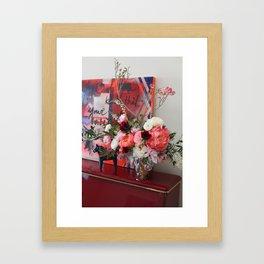 Flower Design 9 Framed Art Print