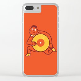 UNDO   Music to the people 12 Clear iPhone Case