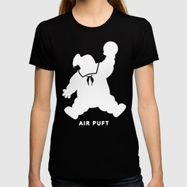 Air Puft: Stay Puft Marshmallow Man - Inverted T-shirt