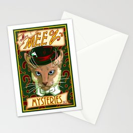 Mr. Meez's Mysteries Stationery Cards