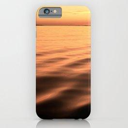 Magical copper seascape iPhone Case