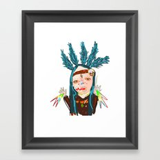 ahHHHHH #5 Framed Art Print