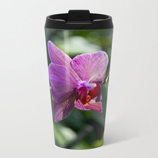 Queen of Flowers Metal Travel Mug