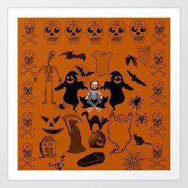 Scream Queen (Chucky Edition) Art Print