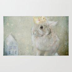 The Bunny Queen Rug