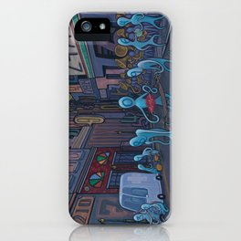 Number City iPhone Case