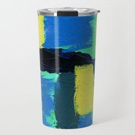 Abstract Expression No. 13 Travel Mug