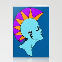 goddess Stationery Cards featuring Goddess by Helena Bowie Banshees