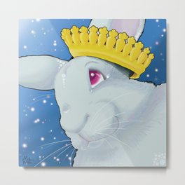 The Carrot King Metal Print