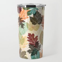 Autumn Leaves 2 Travel Mug