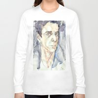 lou reed Long Sleeve T-shirts featuring Lou Reed by Germania Marquez