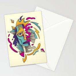 Abstarct Monsta Stationery Cards