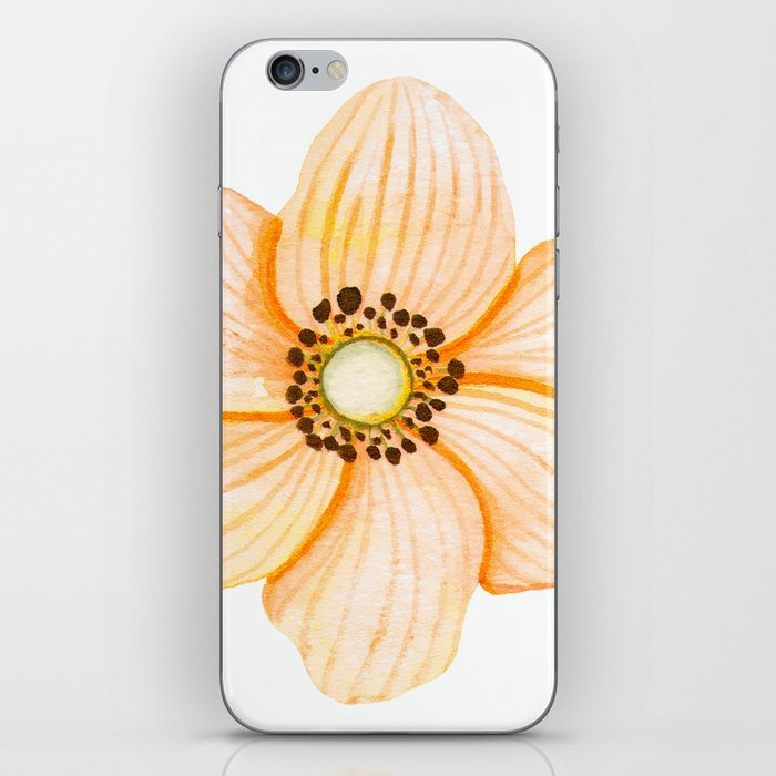 One Orange Flower iPhone Skin