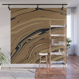 Topaz and Sandstone Wall Mural
