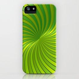 Spiral Vortex G319 iPhone Case
