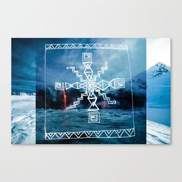 Coldwar Blanket. infn8. Canvas Print
