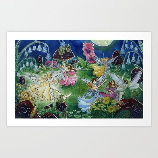 Fairy Ball Art Print