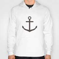 nautical Hoodies featuring Nautical Exploration by Leah M. Gunther Photography & Design