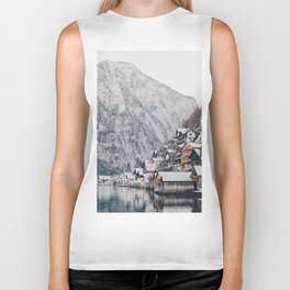 VILLAGE - COAST - MOUNTAINS - SNOW - PHOTOGRAPHY Biker Tank