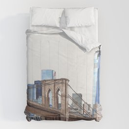 Brooklyn Bridge Comforters