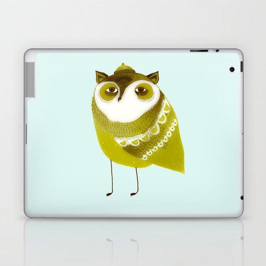 Golden Owl illustration  Laptop & iPad Skin