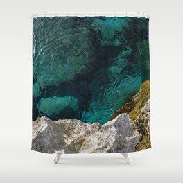 Cyprus Sea III Shower Curtain