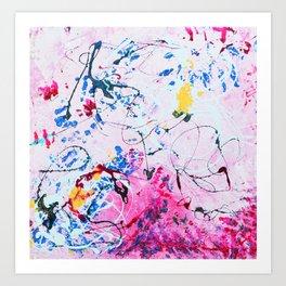 CELEBRATE LOVE MOTHER Art Print