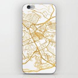 NAIROBI KENYA CITY STREET MAP ART iPhone Skin