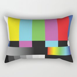 Colour Bars Rectangular Pillow