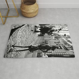 Fearless Girl and the Charging Bull Rug