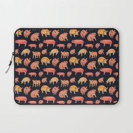 Fancy Rosegold Piggies Laptop Sleeve