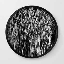 Cambodian Roots Wall Clock