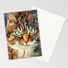 Cats Popart by Nico Bielow Stationery Cards