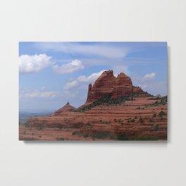Red Rocks in Sedona 2 Metal Print