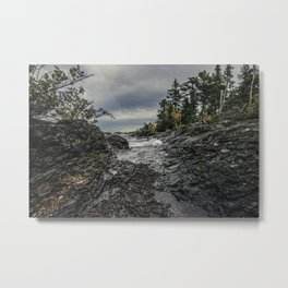 Fall Copper Harbor Michigan Metal Print