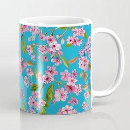Peach Blossom in Sky Coffee Mug