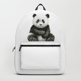 Panda Baby Watercolor Backpack