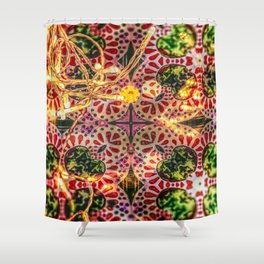 Happy Holiday Shower Curtain