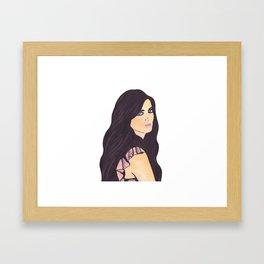 SWEET GIRL Framed Art Print