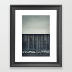Prison Wall II Framed Art Print