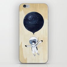 Penguin fly iPhone & iPod Skin