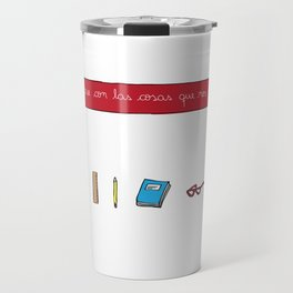 Inspire yourself with things you like Travel Mug