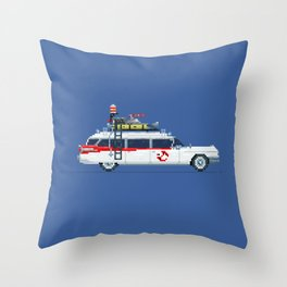 Ecto 1 Throw Pillow