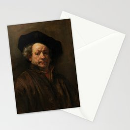 Rembrandt van Rijn - Self-portrait Stationery Cards